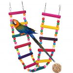 G GANEN Wood Bird Ladder