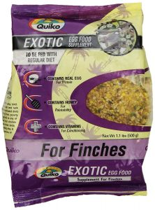 Egg Food Supplement For Finches