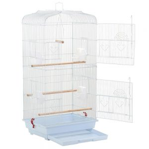 Portable Hanging Medium Size Finch Bird Cage